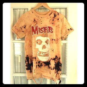 Distressed Misfits shirt